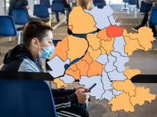 KAART | Staphorst niet langer donkerrood op coronakaart, maar nog altijd slechtste cijfers van de regio