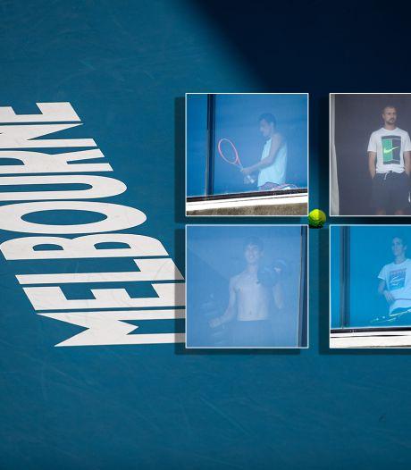 Derde vlucht met coronageval, meer tennissers in Melbourne in quarantaine