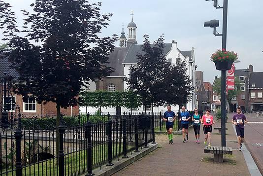 Cityrun vorig jaar door de Molenstraat in Roosendaal