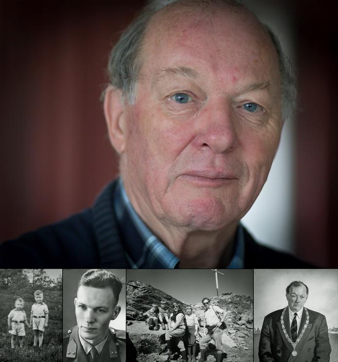 Portret van Henk Bergamin. © Erik van 't Hullenaar. Onder: diverse foto's uit het leven van Bergamin.