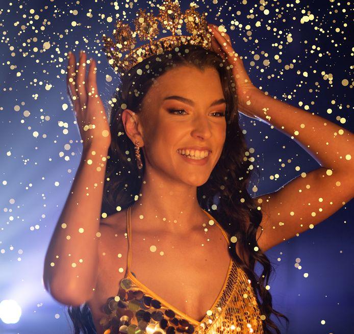 Nikki van Laar werd 28 maart gekroond tot Miss Teen of Noord-Brabant tijdens de online finale van de missverkiezing.