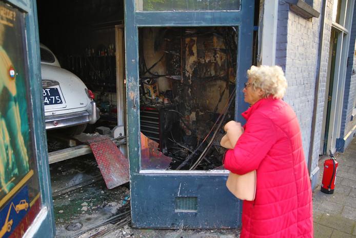Woningen Ontruimd Door Brand In Garage Van Musschenbroekstraat Den