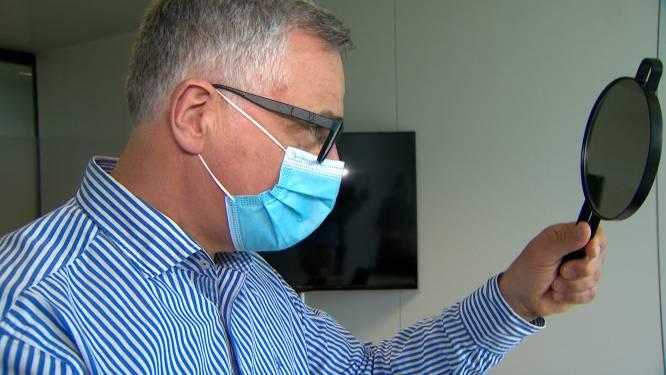 Belgische technologie: één keer op knop duwen en je bril verandert van zicht