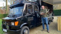 """Truck uit Bevergem krijgt tweede leven als foodtruck: """"Om te barbecueën en onze eigen rum te verkopen"""""""
