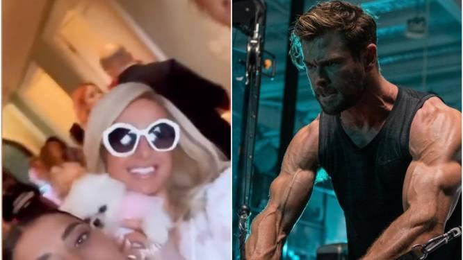 CELEBS 24/7. Paris Hilton heeft genoten van haar bridal shower en Chris Hemsworth gaat tot het uiterste