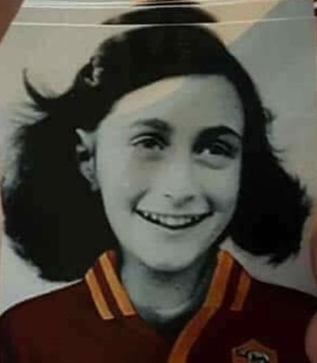 Opschudding over antisemitische Anne Frank-stickers Lazio-fans