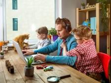 Thuiswerkende ouders: voorkom stress met deze tips