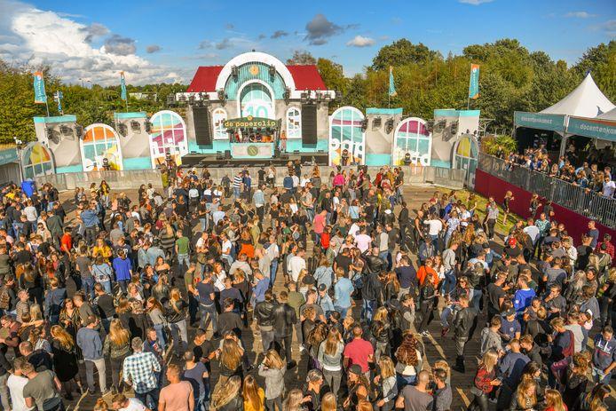 Het Paperclip-festival in Eersel tijdens het tienjarig jubileum in 2018.