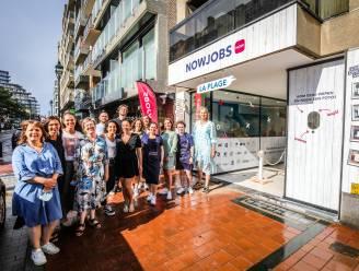 """Digitaal uitzendkantoor opent pop-up in Knokke-Heist: """"Aantal sollicitaties aan kust ligt stuk lager dan elders"""""""