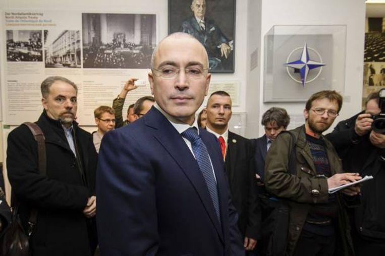Michail Chodorkovski. Beeld AFP
