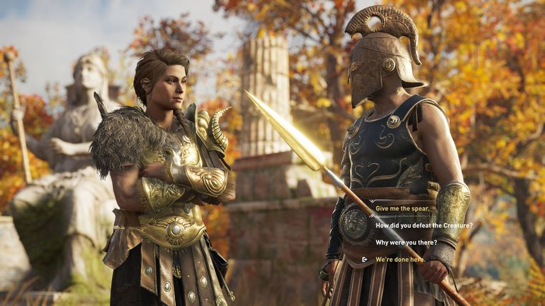 Assassin's Creed: Odyssey Beeld Ubisoft