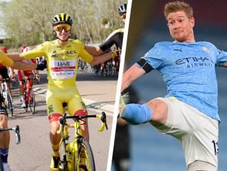 """Tourwinnaar Pogacar hoopt dat De Bruyne FIFA Speler van het Jaar wordt: """"Hou van zijn manier van spelen"""""""