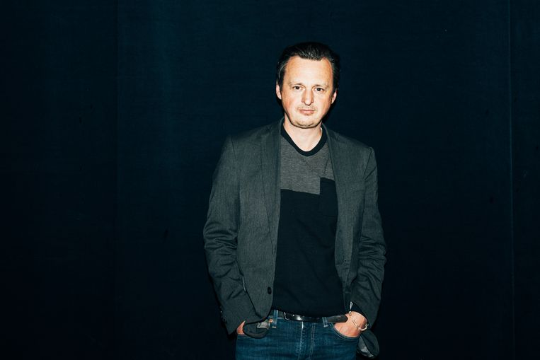 Michael De Cock, artistiek leider van KVS. Beeld Illias Teirlinck