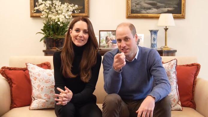 William et Kate lancent leur chaîne YouTube.