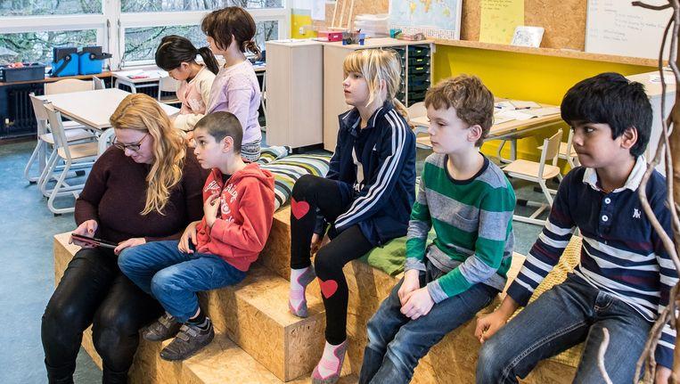 Bij de School of Understanding ligt de nadruk op een individuele aanpak van iedere leerling Beeld Mats van Soolingen