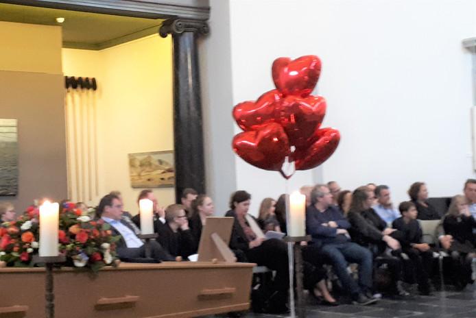 Ballonnen voor opa Jan