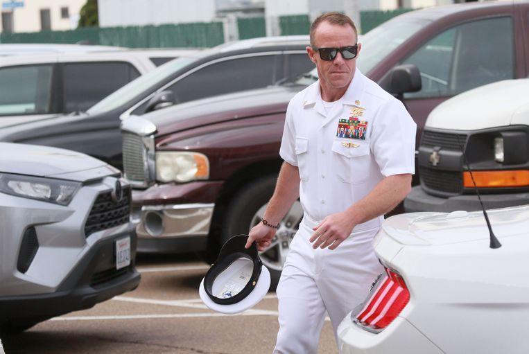 Navy SEAL Edward Gallagher  Beeld AFP