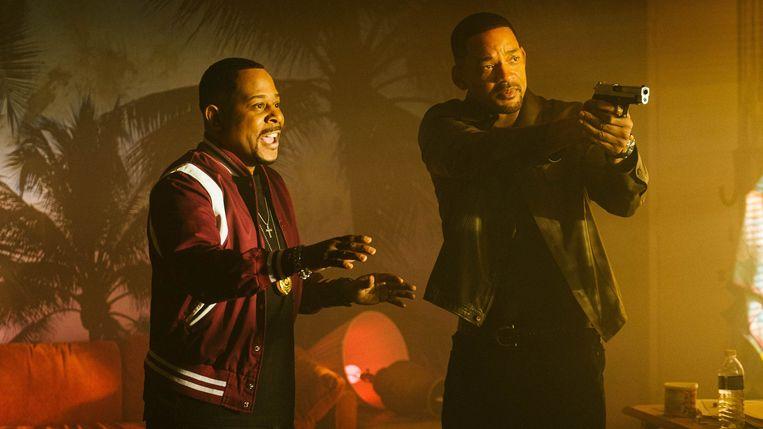 Uit 'Bad Boys for Life', met Martin Lawrence en Will Smith. Beeld JP