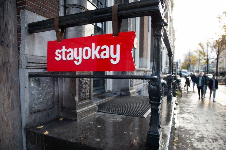 De Stayokay-locatie aan de Kloveniersburgwal.  Beeld Hollandse Hoogte / Harold Versteeg