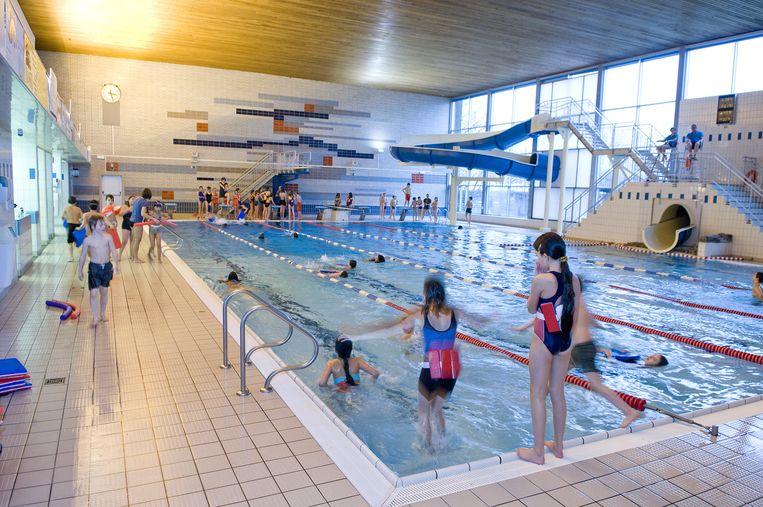 Dit wordt het nieuwe zwembad oudenaarde regio hln for Piscine halle