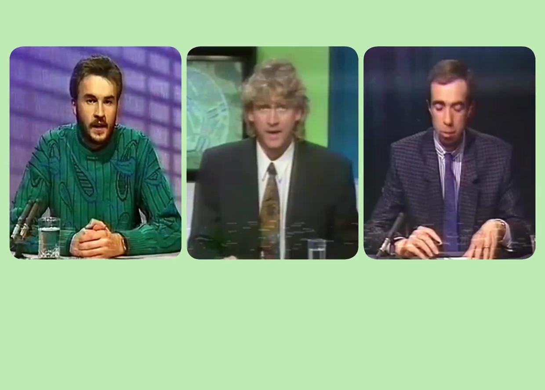 'Iedereen wilde de voetbalmatchen verslaan. Nooit zei iemand: 'Hoera, ik mag 'Sportweekend' presenteren!'' Beeld Humo