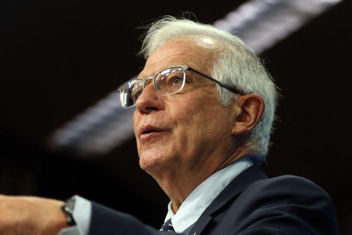 Volgens EU-topdiplomaat Josep Borrell zijn 'op dit moment' geen nieuwe sancties in voorbereiding.