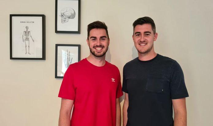 Sam en Nick creëerden Sweevy, een applicatie waarmee patiënten hun revalidatie kunnen opvolgen.