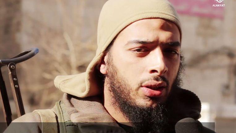 De Fransman Salim Benghalem. Hij is het vermoedelijke brein achter de aanslagen in Parijs. Beeld AFP