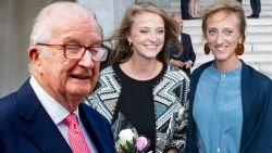 """Koning Albert ongerust over fel vermagerde kleindochter Maria Laura: """"Het is overdreven"""""""