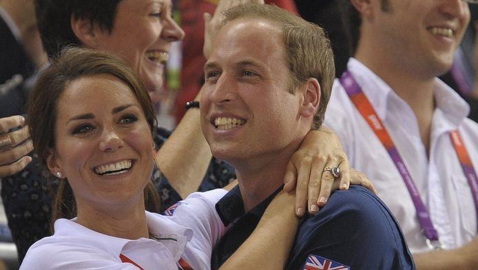 William en Kate op 2 augustus op de Spelen.