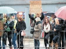 Studente Joanna moet weg na protest tegen monarchie