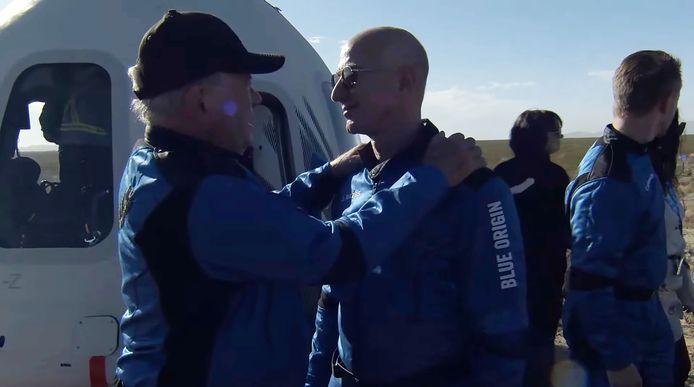 William Shatner a remercié Jeff Bezos.