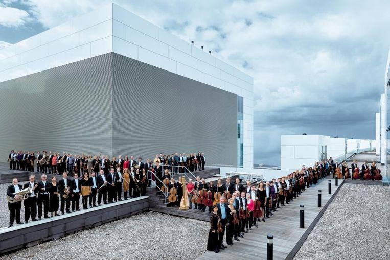 Luistermutant 2021: orkest philharmonie zuiderland. Beeld Simon van Boxtel