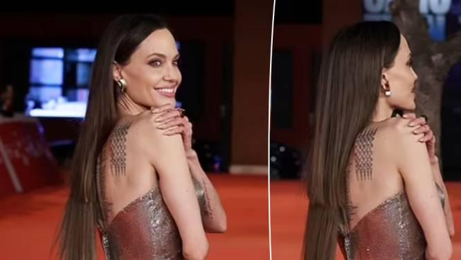 """Internet in een deuk door opmerkelijke look van Angelina Jolie: """"Welke kapper heeft haar dat aangedaan?"""""""