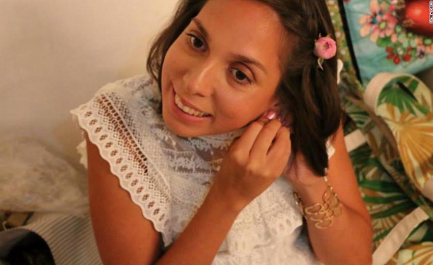 De blinde Amerikaanse studente Carla Valpeoz verdween ook in de buurt van Cusco, in december 2018.