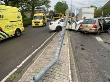 Negen gewonden bij ongeluk op rondweg Eindhoven