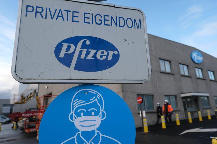 Le site de Pfizer à Puurs.