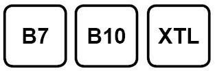 B7 is reguliere diesel en bevat 7 procent biobrandstof, in B10 zit 10 procent. XTL is een synthetische brandstof die niet van aardolie is gemaakt.