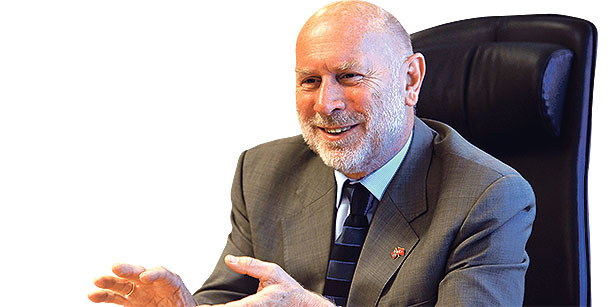 De Noorse ambassadeur in Turkije, Janis Bjørn Kanavin