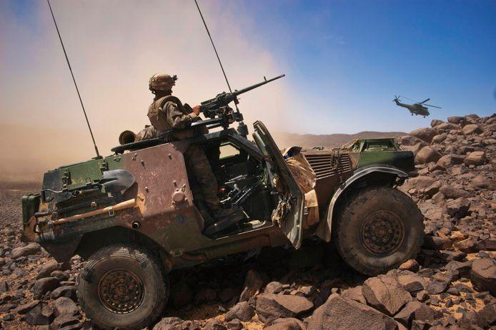Un soldat français au Mali.