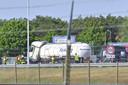 Ongeluk met tankwagen op A16 bij Hazeldonk.