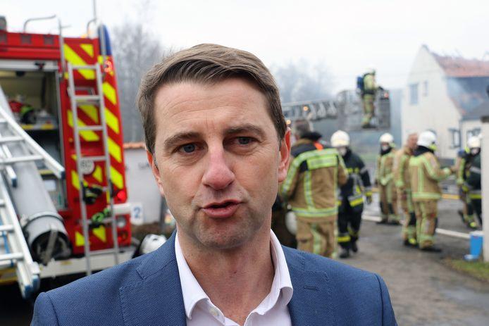 Burgemeester van Herselt Peter Keymeulen.
