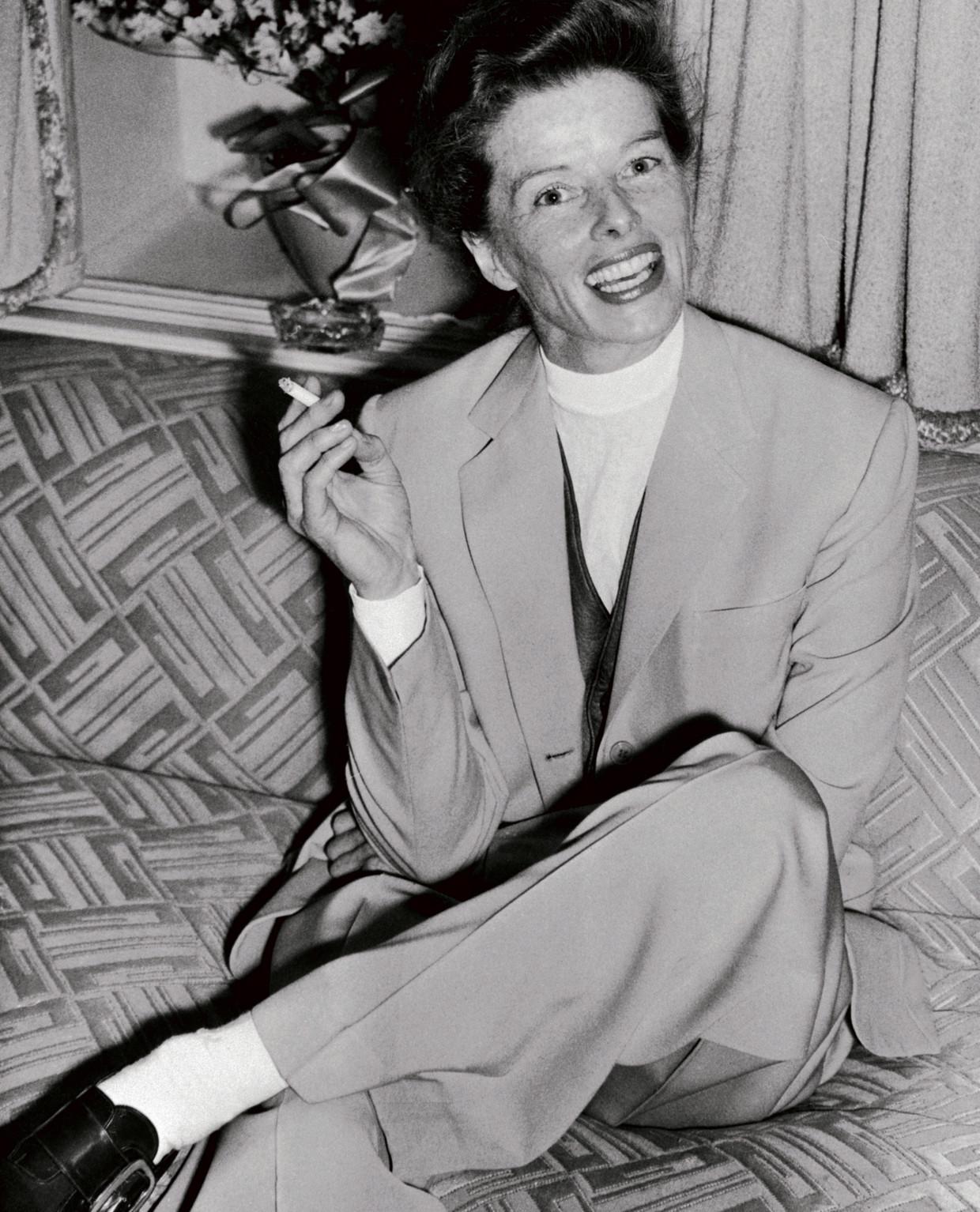 Katharine Hepburn. Beeld rv
