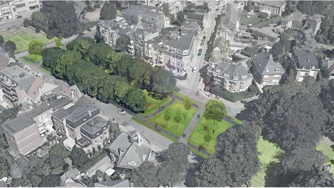"""Heraanleg de Smet de Naeyerpark op lange baan na klacht buurtcomité: """"Geef onze kasseien terug"""""""