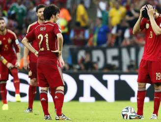 Adiós España! Chili dompelt La Roja onder in diepe rouw