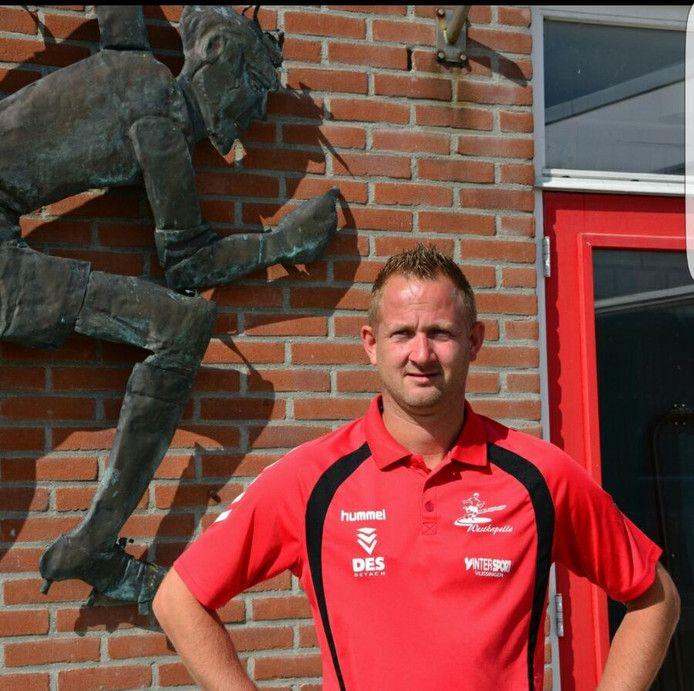 Lennard Kerkhove, trainer van De Noormannen.