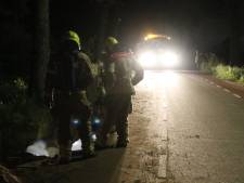 Mookse brandweer spoort gaslek op in bodem Bloemenstraat Milsbeek