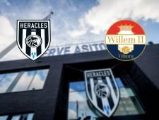 LIVE | Twee Willem II-debutanten, ongewijzigd Heracles wil eerste thuiszege