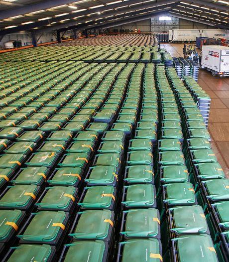 Operatie kliko: omruil van 65.000 afvalcontainers in Oss