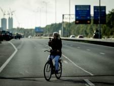 Met de fiets de snelweg op? Burgemeesters kunnen er vooraf niks tegen doen